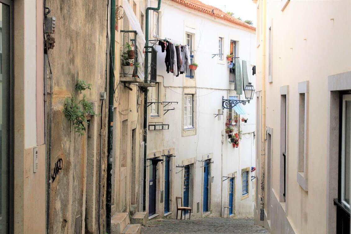 Visiter Lisbonne en passant dans le quartier de l'Alfama