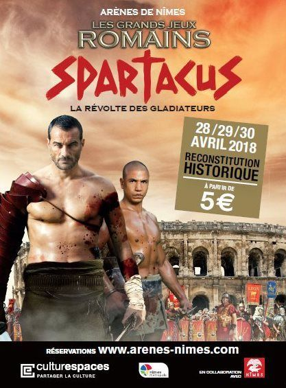 Grands jeux romains sur le thème de Spartacus 2018