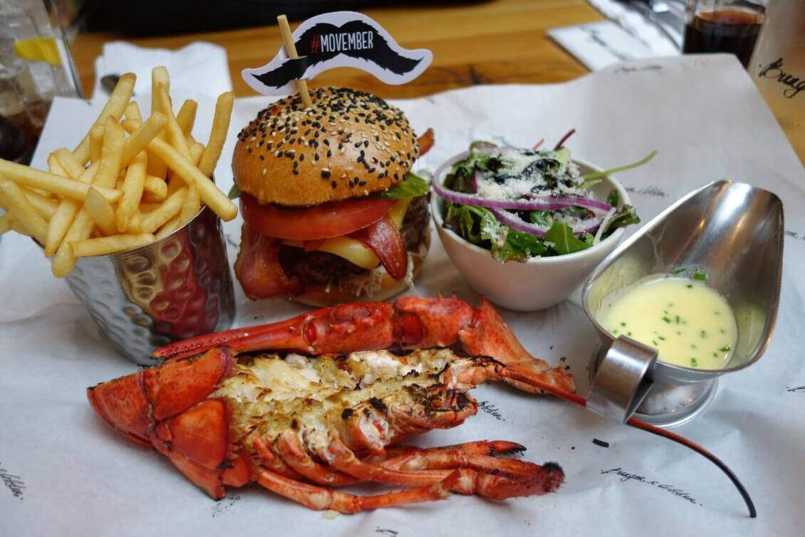 Restaurants à Londres à ne pas manquer en allant au Burger and Lobster