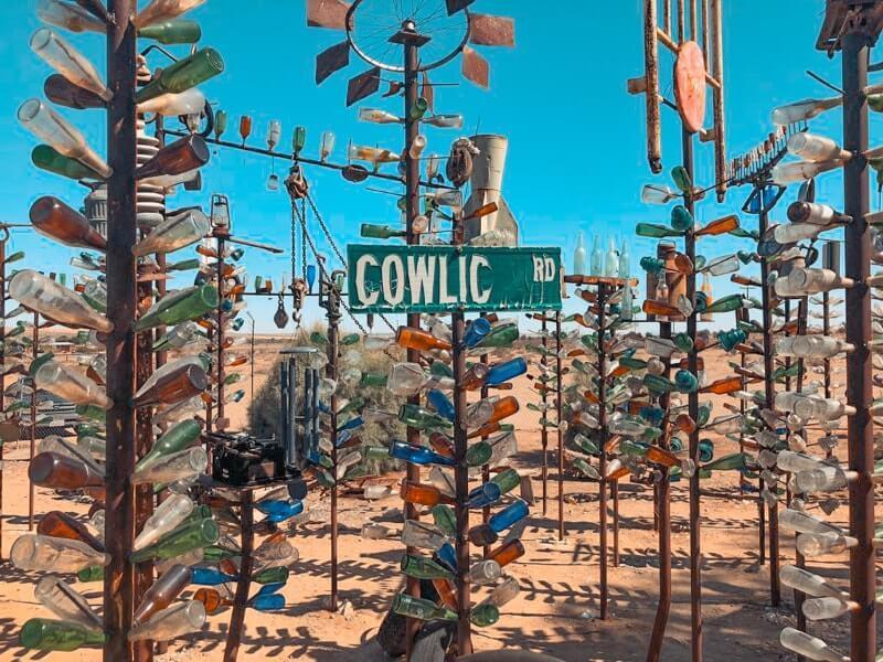 Route-de-Los-Angeles-a-Las-Vegas-visiter-le-elmer-bottletreeranch