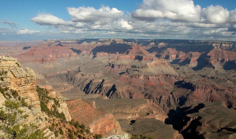 Canyons-autour-de-Las-Vegas-grand-canyon-south-rim