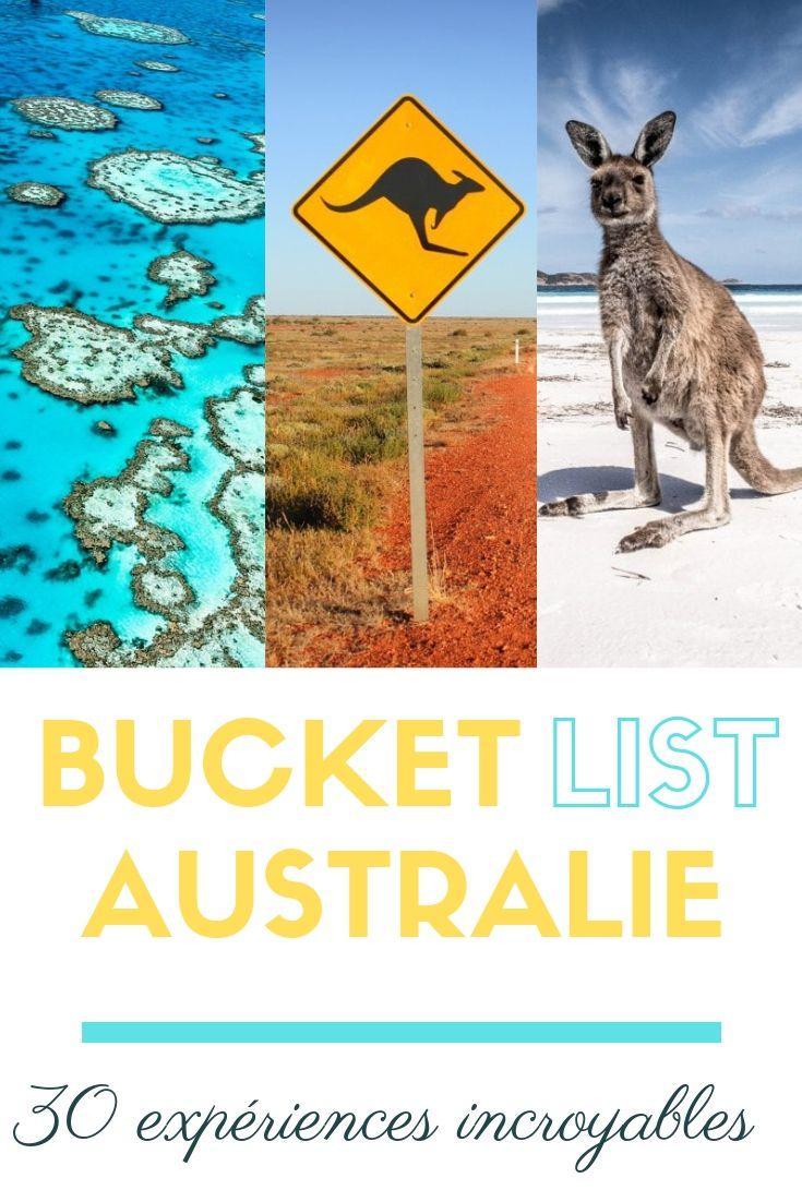 Bucket list Australie Du soleil dans les poches
