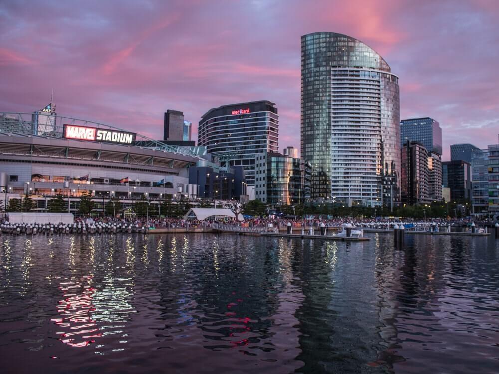 Visiter Melbourne : Docklands