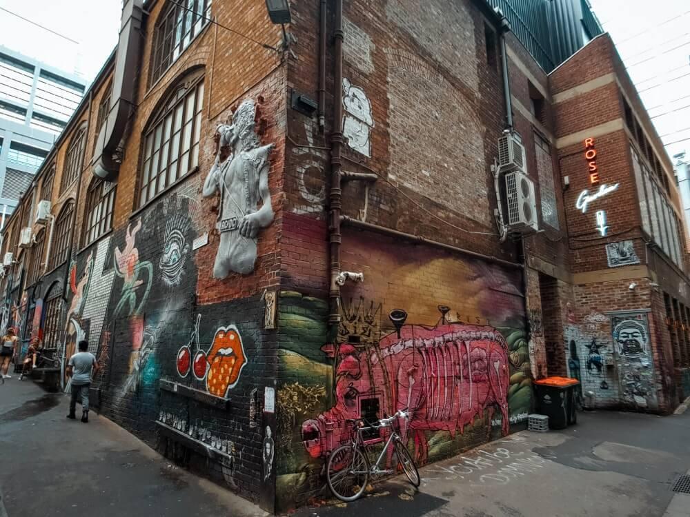 Visiter Melbourne : street_art_ACDC_lane