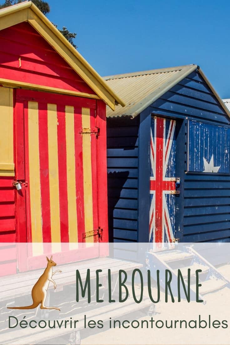 Visiter Melbourne Pin it du soleil dans les poches