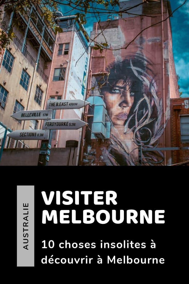 Visiter Melbourne image pinterest à epingler
