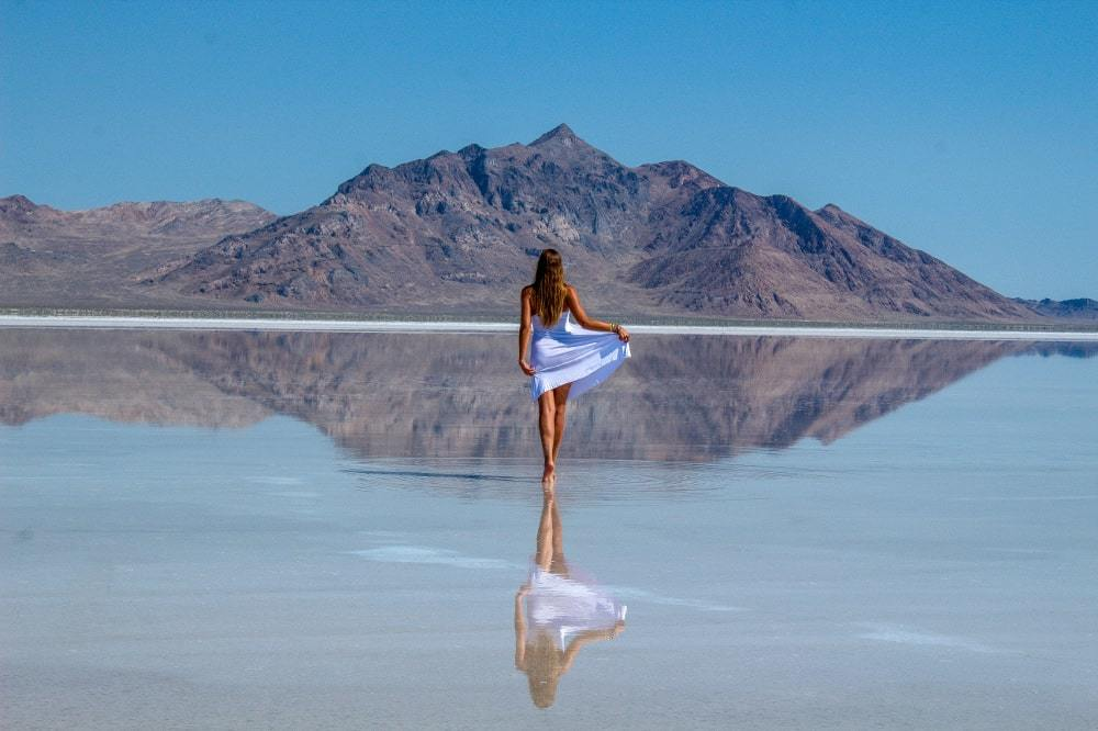 Bucket list-USA Bonneville salt flats