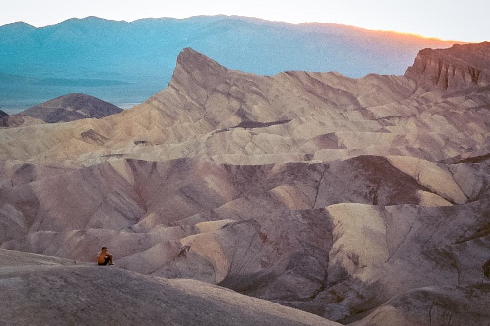 Bucket list USA marcher-dans-la-death-valley