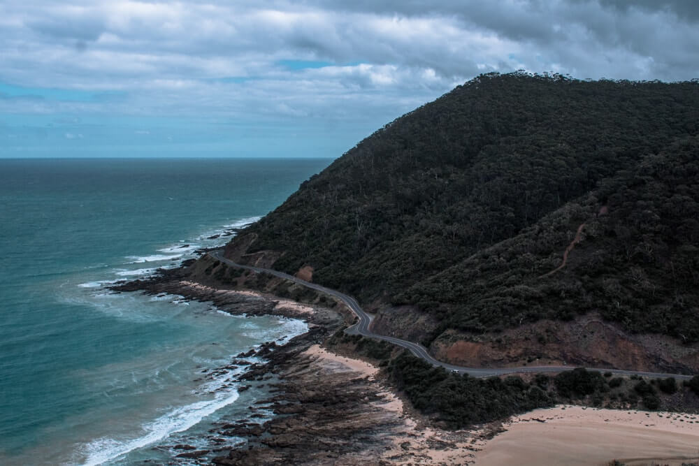 Road trip sur la Great Ocean Road : Teddys lookout