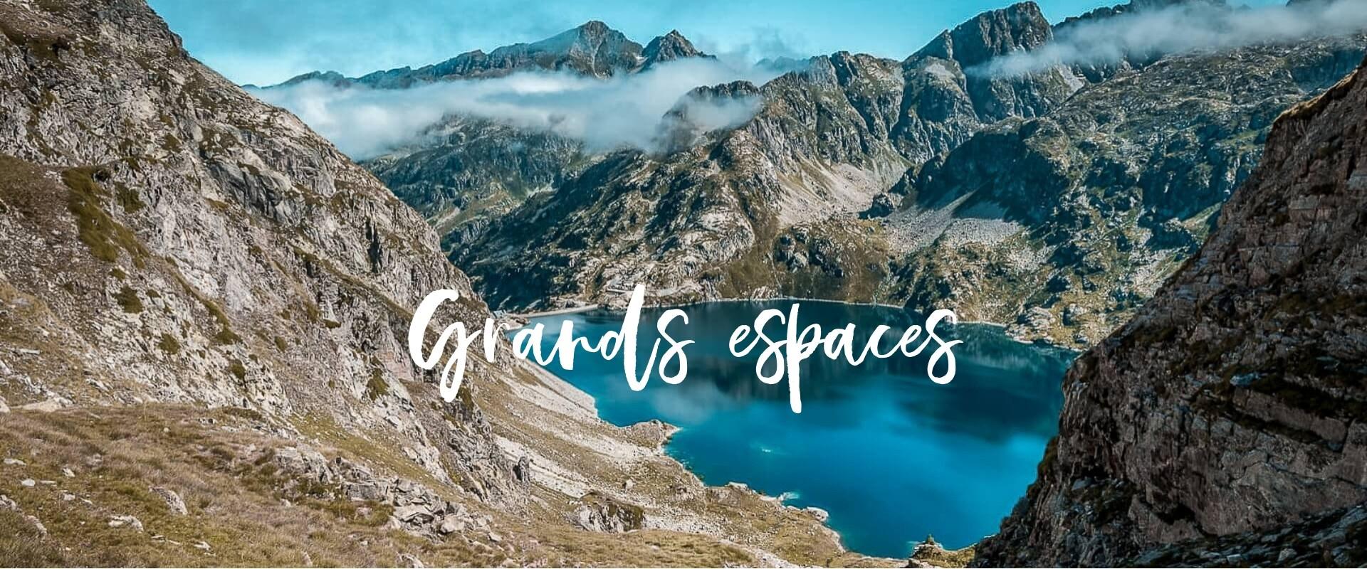 Grands espaces – Page accueil