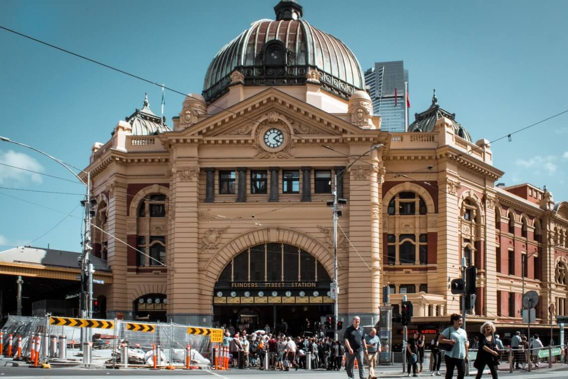 Spots photos Melbourne : la gare de Flinders