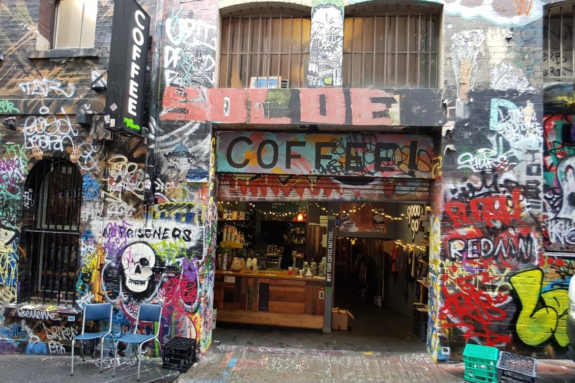 Spots photos Melbourne : hosier lane