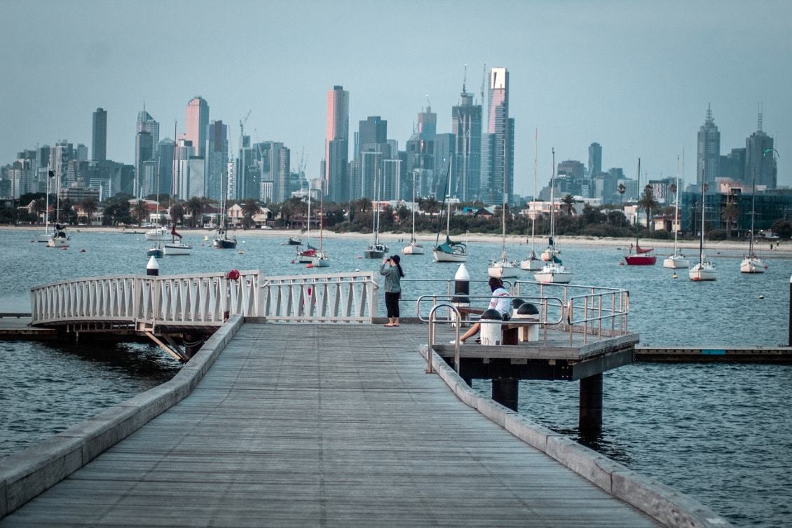 Spots photos de Melbourne : la jetée de St Kilda