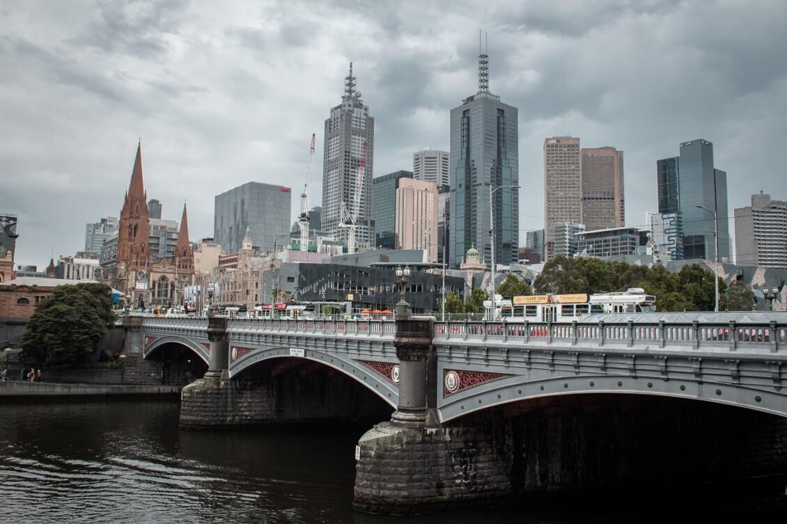 Spots photos Melbourne : balade le long de la promenade sur Southbank