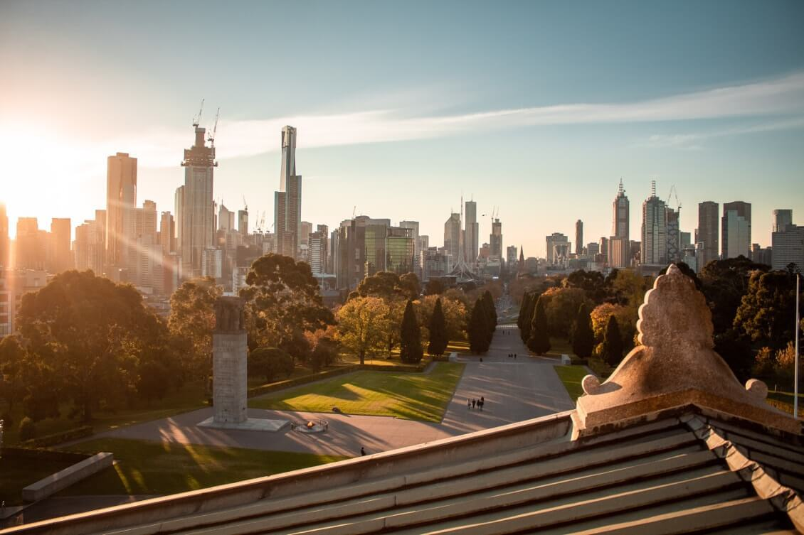Spots photos Melbourne : balade sur le Shrine of remembrance