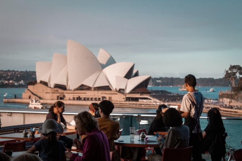 Visiter Sydney MCA cafe