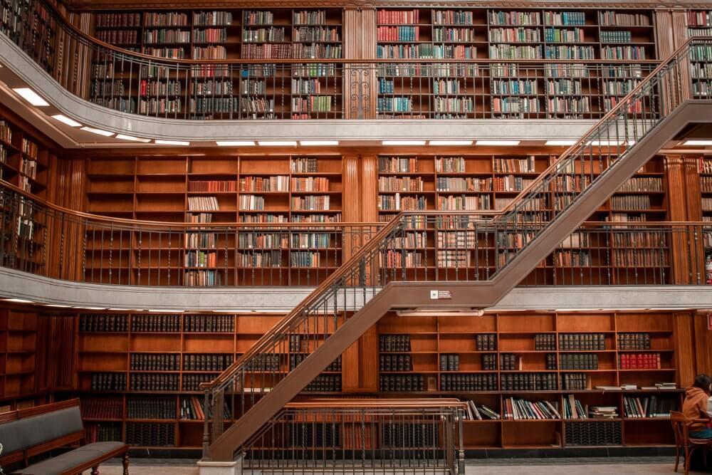 Visiter Sydney State library