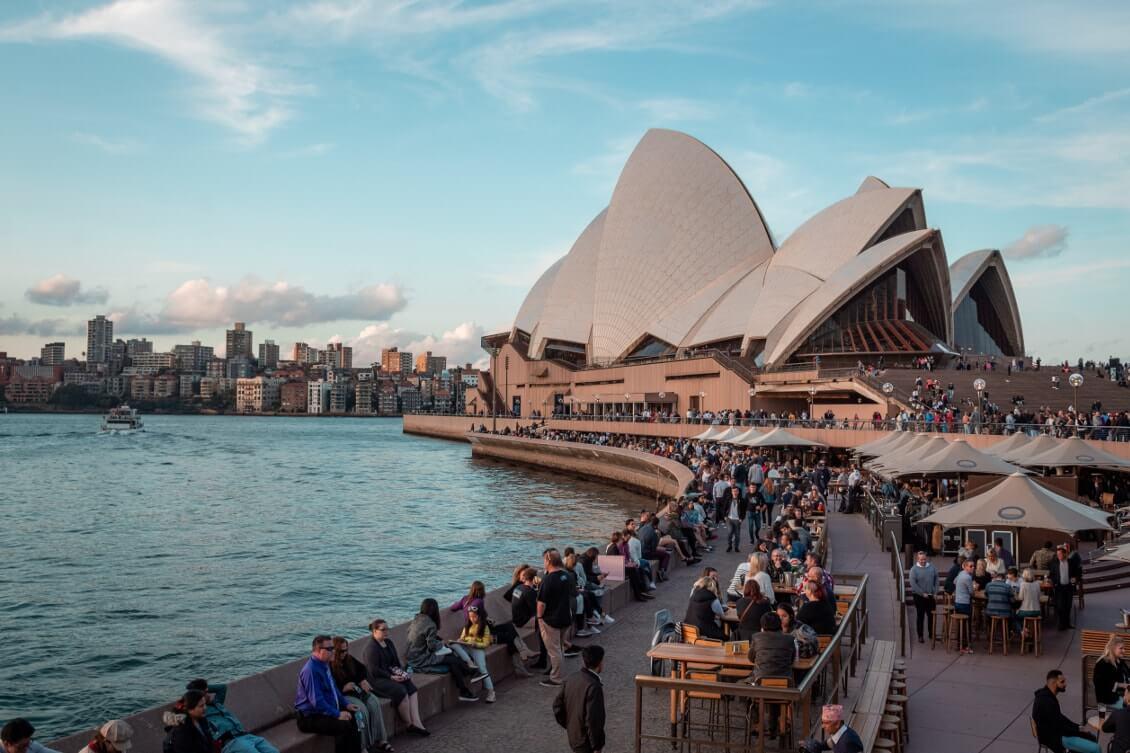 Visiter Sydney opera house