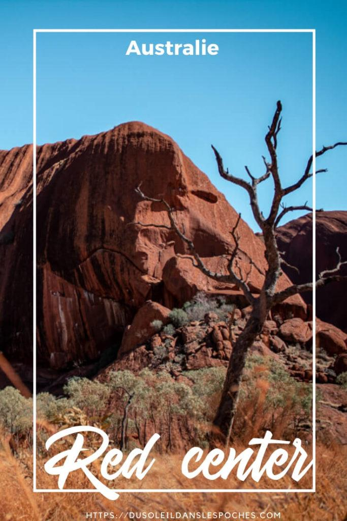 Red center de l'Australie image pinterest