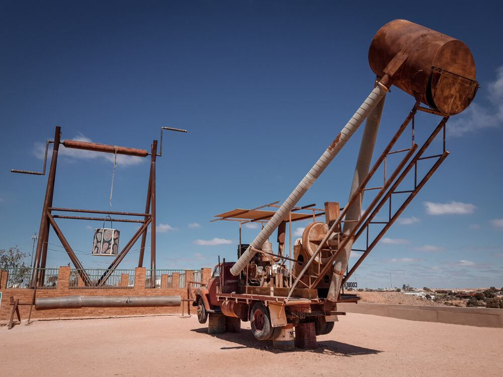 Coober Pedy The big winch